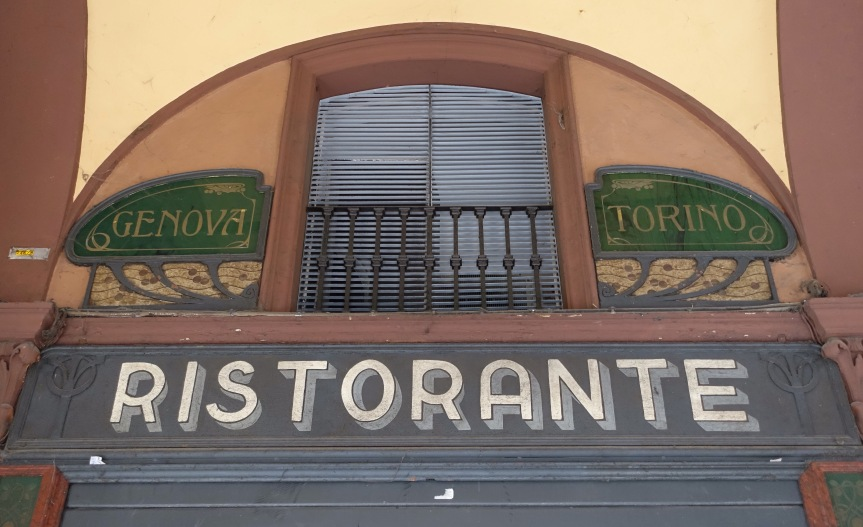 Historic Shop Signs in Bologna