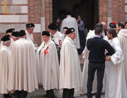 Knights Holy Sepulchre Bologna santo stefano