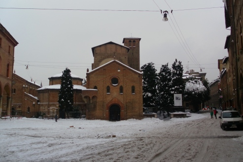 Santo Stefano in winter