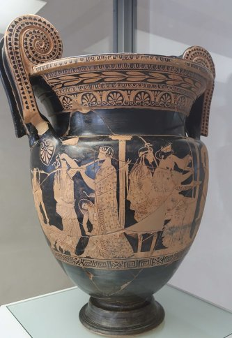 Greek Vase from Etruscan Tomb Ferrara