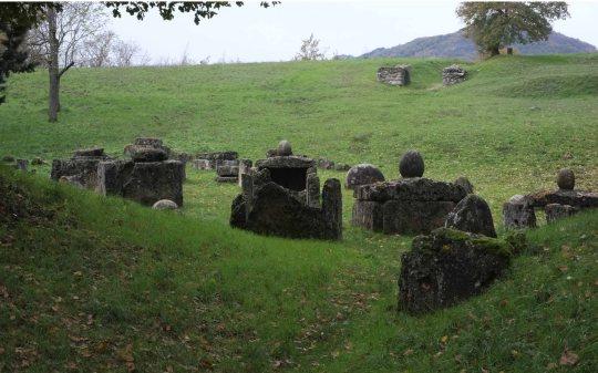 Etruscan Necropolis Marzabotto