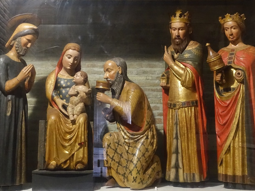 World's oldest nativity scene Bologna Santo Stefano