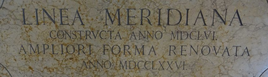 The Meridian Line of San Petronio