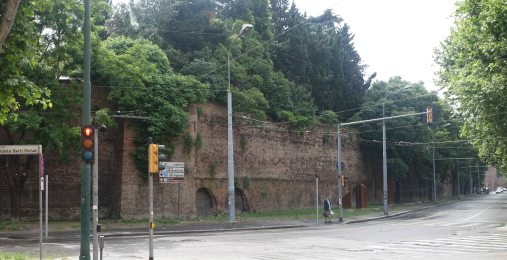 Bologna city walls