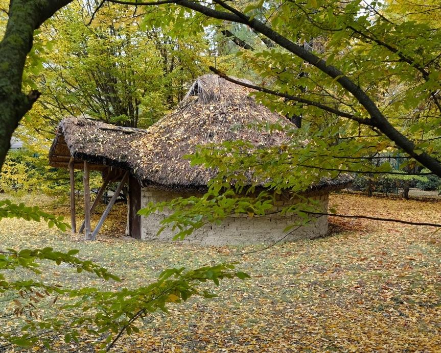 Reproduction Villanovan hut Bologna