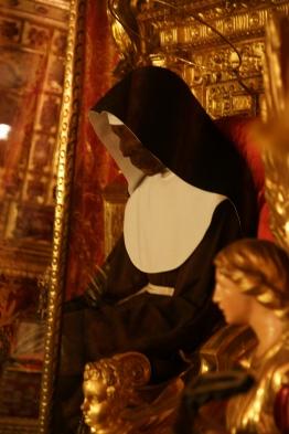 Santa Caterina de Vigri mummy Bologna