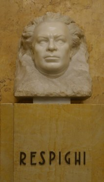 Respighi memorial Bologna