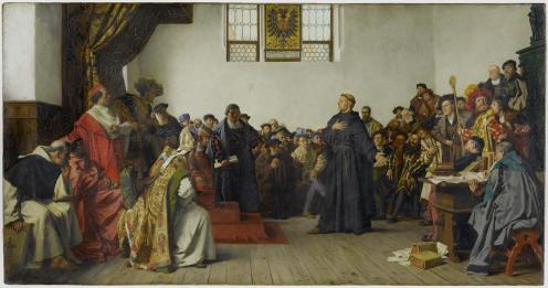 Luther at the Diet of Worms (Anton von Werner)