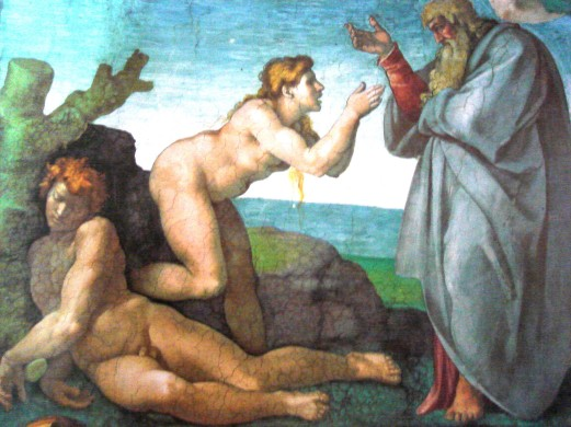 michelangelo creation of eve sistine chapel