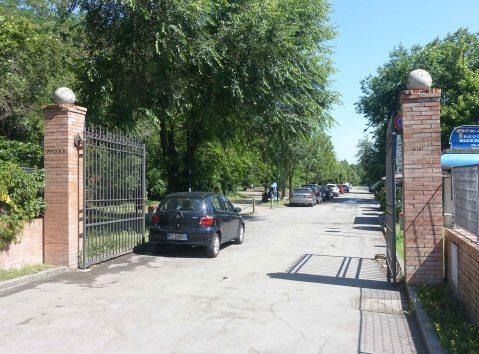 Villa Angeletti Bologna entrance