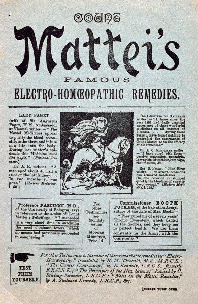 Mattei electro homoeopathy