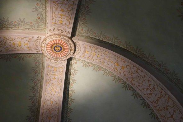Rochetta mattei ceiling