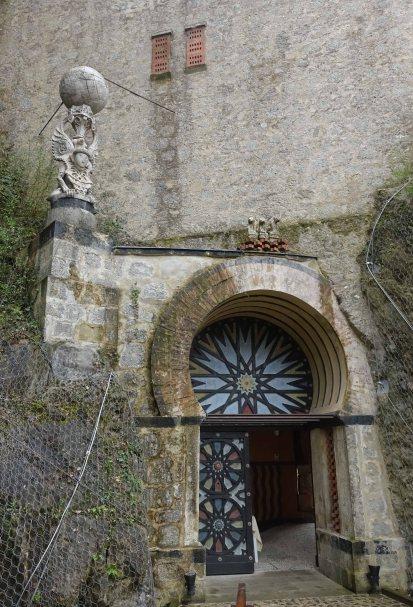 Rochetta Mattei doorway bologna