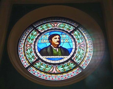 rochetta mattei stained glass