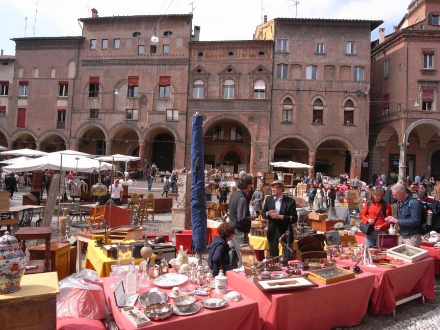 Bologna's Antiques Market
