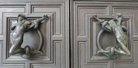art deco door handles Bologna