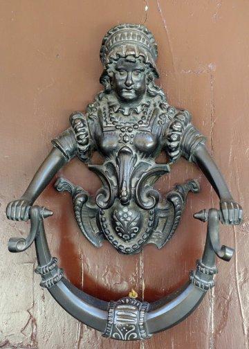 Bologna doorknocker female figure