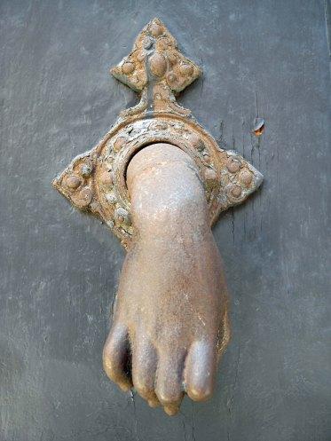 Bologna hand style doorknocker