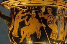 Greek Krater painting.