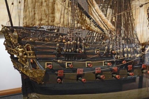 poggi museum bolgna ship model