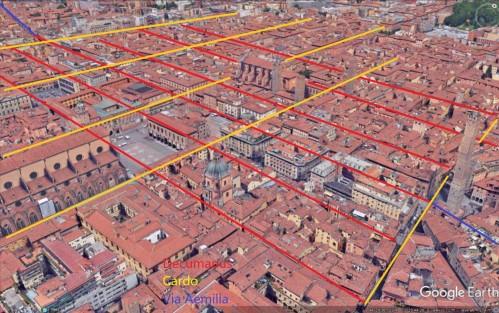 BO roman streets marked