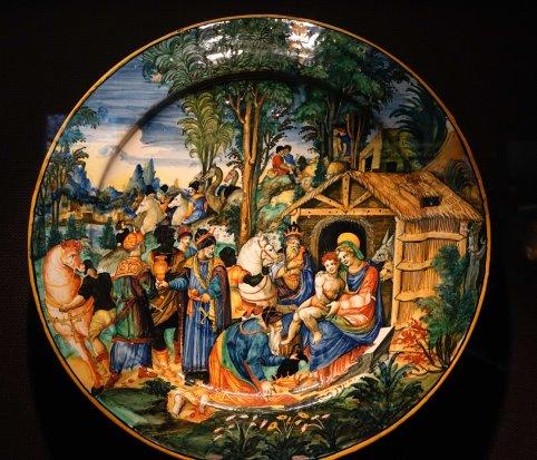 Faenza renaissance plate