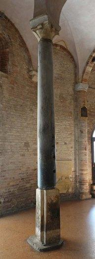 Roman column, Santo Stefano, Bologna.