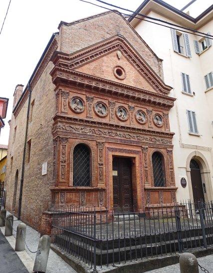 terracotta church front