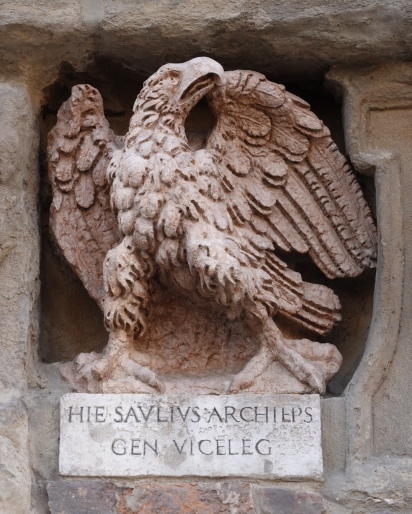 This eagle is often attributed to Michelangelo.
