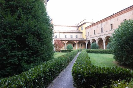 The cloister of San Domenico.