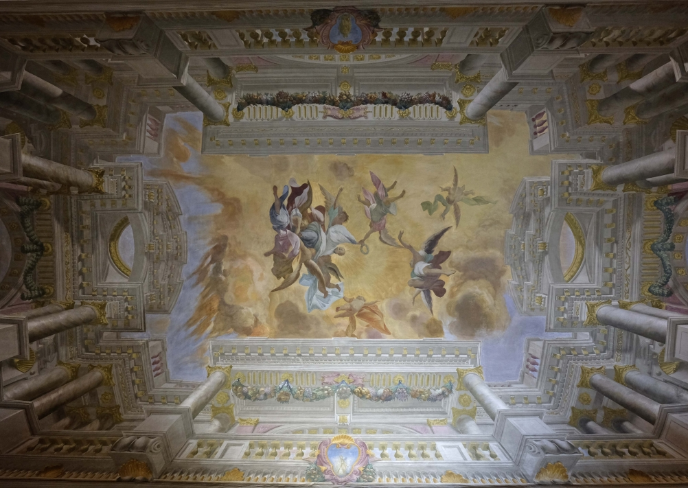 palazzo pepoli campogrande ceiling