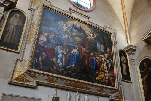 elisabetta sirani baptis of christ