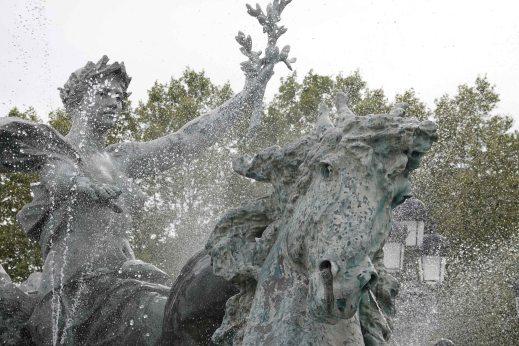 montagnola park fountain bologna