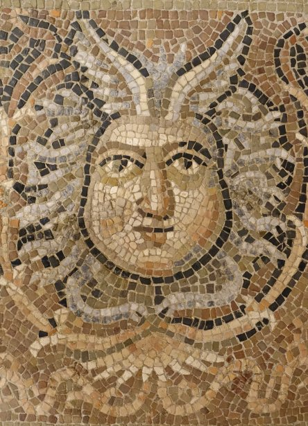 Roman mosaic, Rimini.