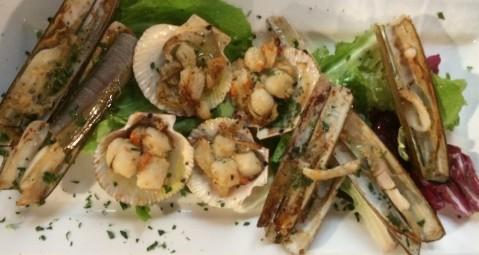 """""""Il Pescato del Canavone"""" seafood restaurant Rimini."""